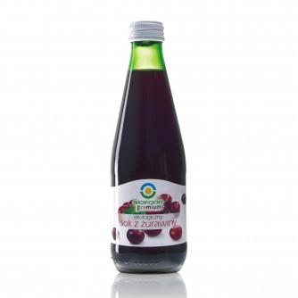 Ekologiczny sok z żurawiny Bio Food 300ml