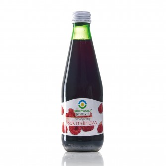 Ekologiczny sok malinowy Bio Food 300ml