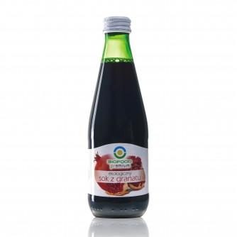 Ekologiczny sok z granatu Bio Food 300ml