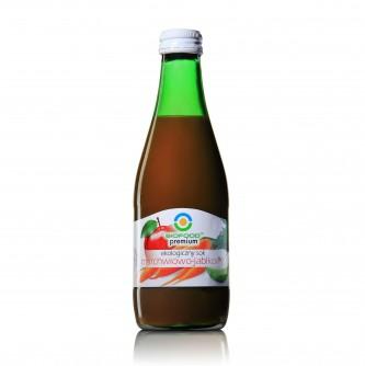 Ekologiczny sok marchwiowo - jabłkowy Bio Food 300ml