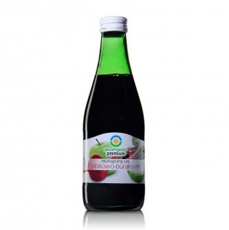 Ekologiczny sok jabłkowo - burakowy Bio Food 300ml