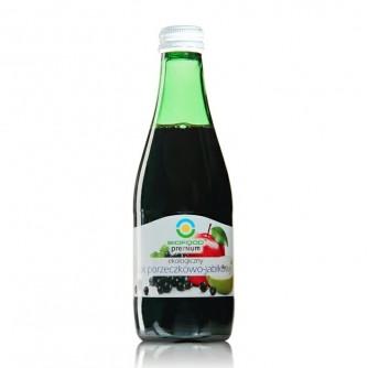 Ekologiczny sok porzeczkowo - jabłkowy Bio Food 300ml