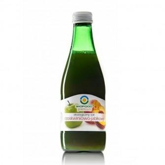 Ekologiczny sok brzoskwiniowo - jabłkowy Bio Food 300ml