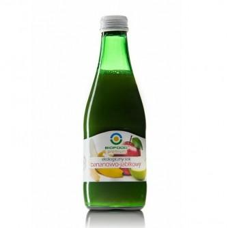 Ekologiczny sok bananowo - jabłkowy Bio Food 300ml