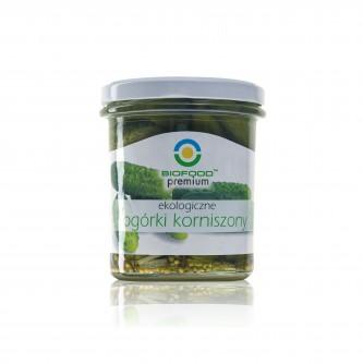 Ekologiczne ogórki korniszony Bio Food 300ml