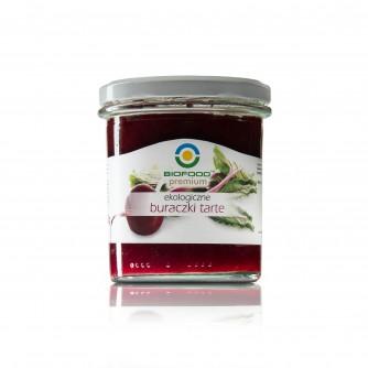 Ekologiczne buraczki tarte Bio Food 370ml