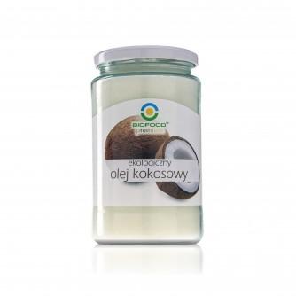Ekologiczny olej kokosowy Bio Food 670ml