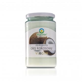 Ekologiczny olej kokosowy Virgin Bio Food 670ml