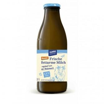 Mleko niskotłuszczowe 1,5% butelka Terra Naturkost 1l