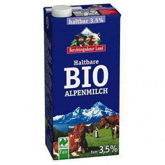 Mleko pełne 3,5% Berchtesgadener Land 1l