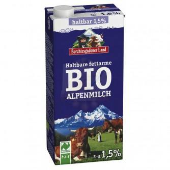 Mleko niskotłuszczowe 1,5% Berchtesgadener Land 1l