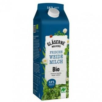 Mleko pełne 3,8% Glaserne Molkerei 1l
