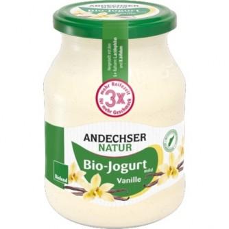 Jogurt waniliowy 3,7% Andechser Natur 500g