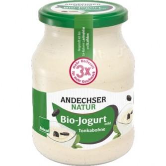 Jogurt z fasolką Tonka 3,7% Andechser Natur 500g