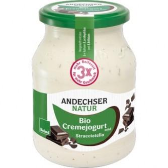 Jogurt Stracciatella 7,5% Andechser Natur 500g