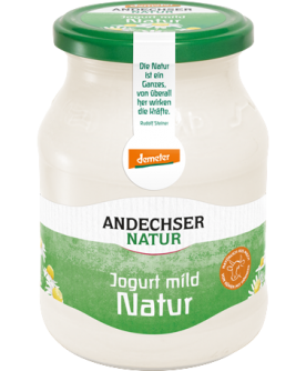 Jogurt naturalny 3,7% Andechser Natur 500g