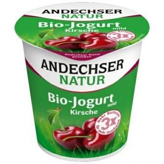 Jogurt malinowy z czarnym bzem 3,7% Andechser Natur 400g