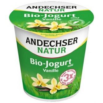 Jogurt waniliowy 3,7% Andechser Natur 400g