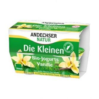 Jogurt waniliowy 3,7% Andechser Natur 4x100g