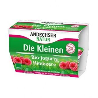 Jogurt malinowy 3,7% Andechser Natur 4x100g
