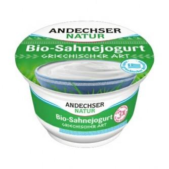 Jogurt grecki naturalny 10% Andechser Natur 200g