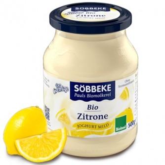 Jogurt kremowy z cytryną 7,5% Söbbeke 500g