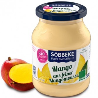 Jogurt z musem mango 7,5% Söbbeke 500g