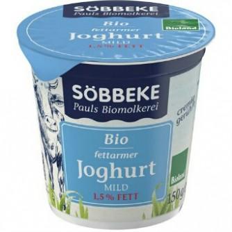 Jogurt naturalny odtłuszczony 1,5% Söbbeke 500g