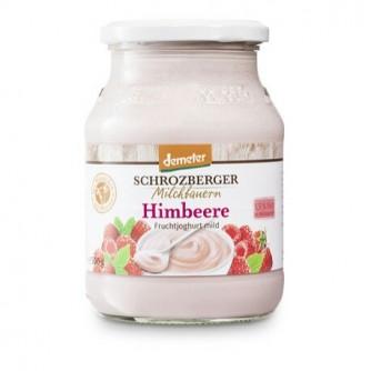 Jogurt malinowy 3,5% Schrozberger Milchbauern 500g