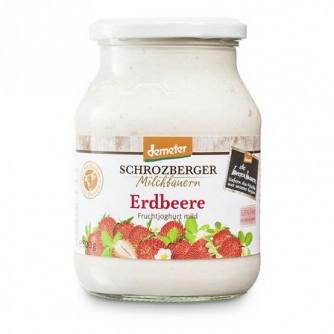 Jogurt truskawkowy 3,5% Schrozberger Milchbauern 500g