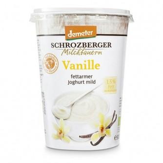 Jogurt waniliowy odtłuszczony 1,5% Schrozberger Milchbauern 500g