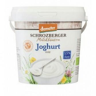 Jogurt naturalny 3,5% Schrozberger Milchbauern 1kg