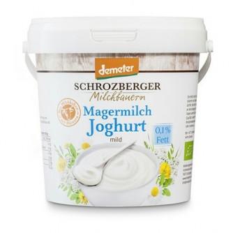 Jogurt naturalny odtłuszczony 0,1% Schrozberger Milchbauern 1kg