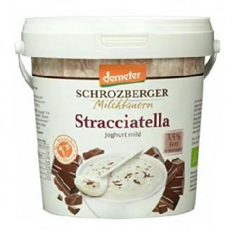 Jogurt stracciatella 3,5% Schrozberger Milchbauern 1kg