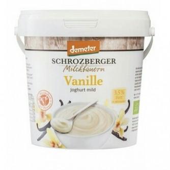 Jogurt waniliowy 3,5% Schrozberger Milchbauern 1kg