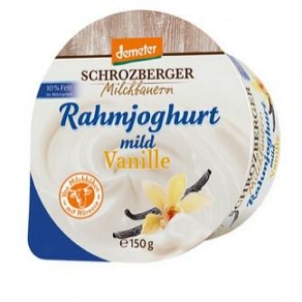 Jogurt śmietankowy waniliowy 10% Schrozberger Milchbauern 150g