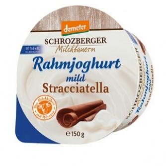Jogurt śmietankowy stracciatella 10% Schrozberger Milchbauern 150g