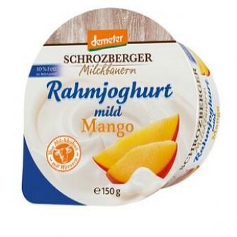 Jogurt śmietankowy z mango 10% Schrozberger Milchbauern 150g